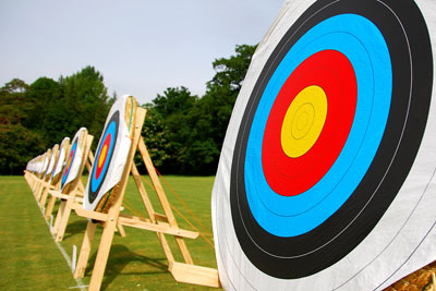 Mobile Archery Sessions - perfect for any Olympic theme event
