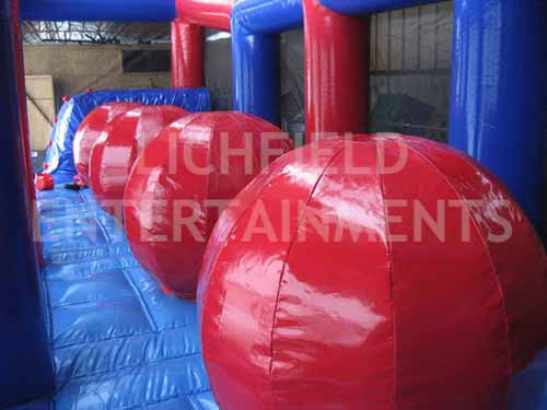 Ball to Ball Jumping Game for hire