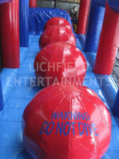 Inflatable Ball to Ball Jumping Game for hire