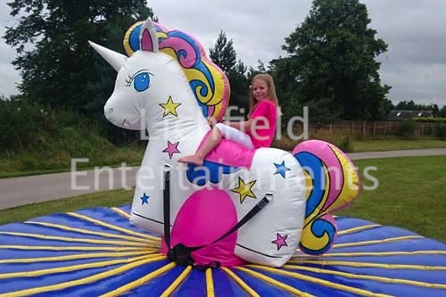 Bouncy Unicorn Ride for hire