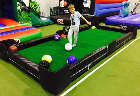 Footpool Game hire