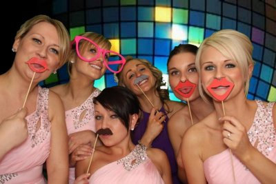 Deluxe Photo Booth hire for your Party, Reception, or Ball
