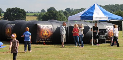 Mobile Laser Tag in Inflatable Maze for the Midlands