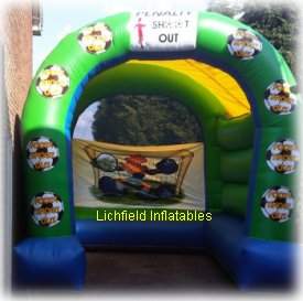 Large Penalty Shoot Inflatable Game for Hire