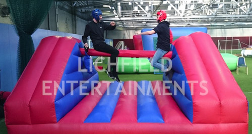 Pillowbash inflatable game for hire