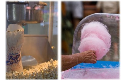 Popcorn and Candyfloss Machine and Cart Hire