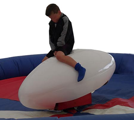 Rodeo Rugby Ball Ride