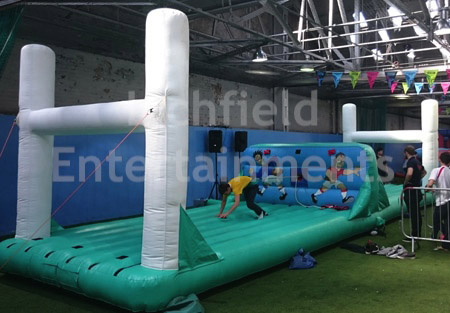 Rugby Bungee Inflatable Game Hire