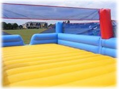 Inflatable Beach Volleyball Court for hire