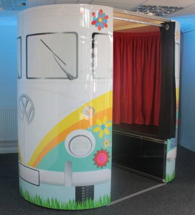 VW Camper Photo Booth hire for your Party, Reception, or Ball